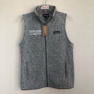 Patagonia Better Sweater Front Zip Sleeveless Vest